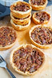 Maple Bourbon Bacon & Pb Tarts!