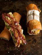 Bacon, Blue Cheese, & Avo Baguette!