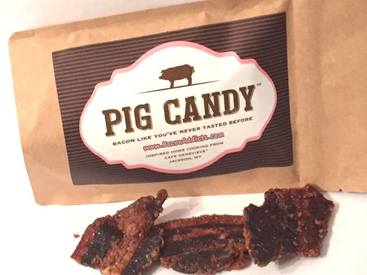 Sweet & Savory Pig Candy!
