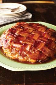Upside Down Bacon Apple Pie!