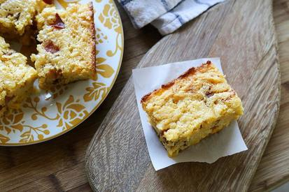 Bacon Buttermilk Cornbread!
