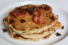 Chocolate Chip Bacon Pancakes!