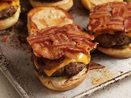 The Best Bacon Burger!