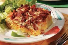 Cheesy Apple Bacon Brunch!