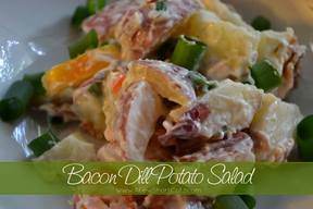 Bacon Dill Potato Salad!