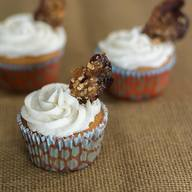 Maple Bacon Beer Batter Cupcakes!