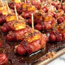 Bacon Wrapped Smokies!