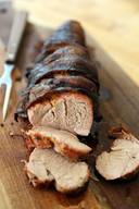 Grilled Bacon Wrapped Pork Tenderloin!