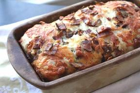 Loaded Bacon Cheddar Bread!