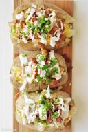 Chicken Bacon Ranch Potatoes!