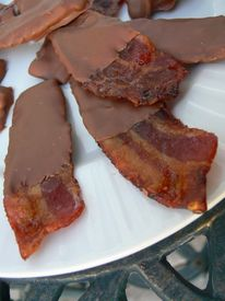 Milk Chocolate Candied Bacon!