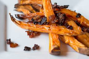 Bacon Sweet Potato Fries!