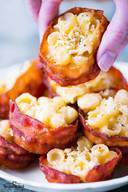 Bacon Mac & Cheese Bites!