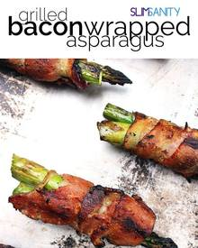Grilled Bacon Wrapped Asparagus!