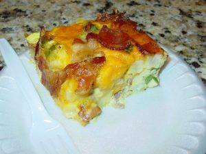 Bacon Potato & Egg Casserole!