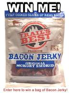 Bacon Jerky Giveaway!