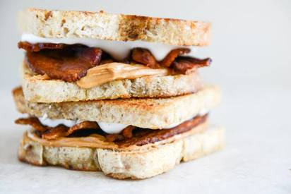 Toasted Bacon Fluffernutters!
