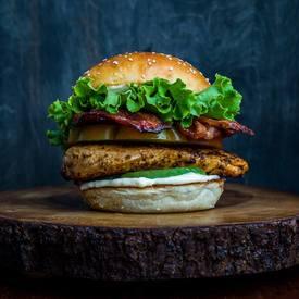 Cajun Chicken Club Sandwich!