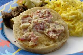 English Muffins W/ Bacon Butter!