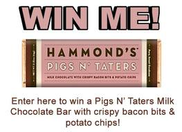 Win A Pigs N' Taters Chocolate Bar!