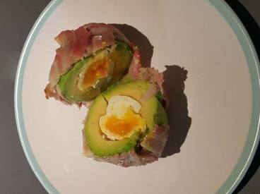 Bacon Avocado Scotch Egg!
