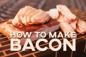 Make Your Own Bacon At Home!