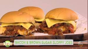 Bacon & Brown Sugar Sloppy Joes!