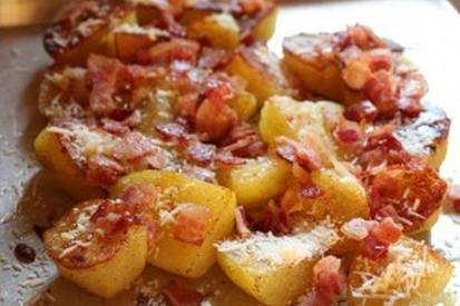 Oven Roasted Bacon Potatoes!