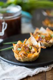 Bbq Bacon Cheeseburger Cups!
