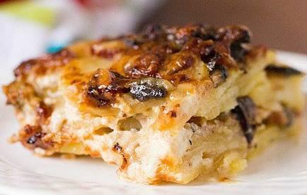Bacon & Mushroom Potato Gratin!