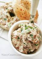 Bacon Green Onion Cream Cheese Spread!