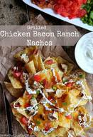 Chicken Bacon Ranch Nachos!