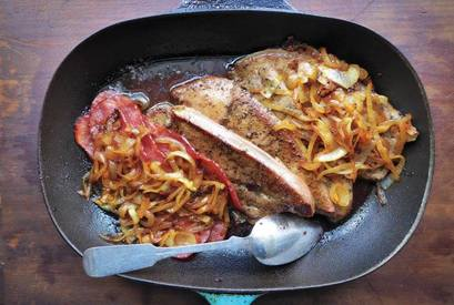 Liver Bacon & Onions!