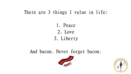 Bacon Value!