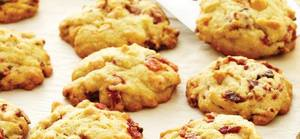 Chewy Bacon Butterscotch Cookies!