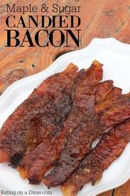 Mouthwatering Candied Bacon!