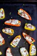 Bacon Cheesy Stuffed Peppers!