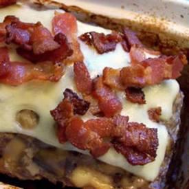 Bacon Mushroom Swiss Meatloaf!