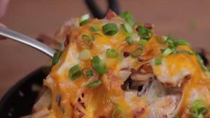 Bacon Ranch Cheese Fries!