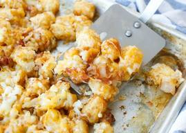Cheesy Bacon Tator Tots!
