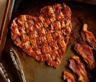 Apple Braised Applewood Bacon!