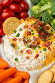 Bacon Cheddar Ranch Dip!
