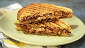 Pb Banana Bacon Sandwich!