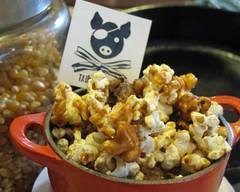 Bacon Caramel Popcorn W/ Bacon Salt!