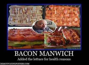 Bacon Manwich?