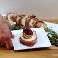 Bacon Stuffed Turkey Breasts!
