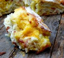 Easy Artisan Bacon Cheese Bread!