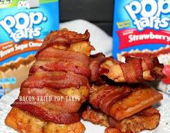 Bacon Fried Pop Tarts!