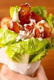 Chicken Bacon Ranch Lettuce Wraps!