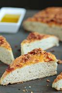 Bacon & Cheese Focaccia Bread!